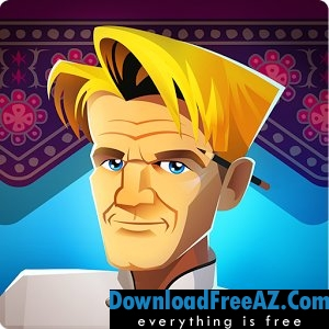 RESTAURANT DASH, GORDON RAMSAY APK MOD Android | DownloadFreeAZ