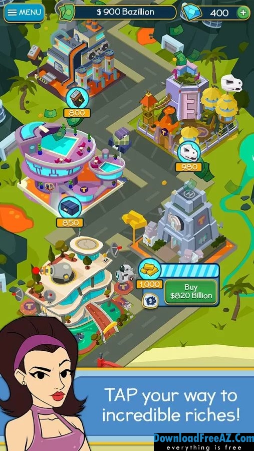 Taps to Riches APK v2.14 MOD (Unlimited money) Android Free