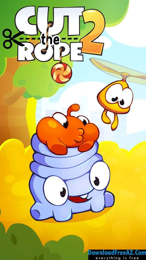 Cut the Rope 2 APK v1.10.0 + MOD (Unlimited Energy) Android Free