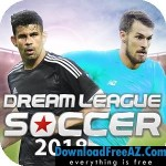 Dream League Soccer 2018 APK v5.03 MOD Hacked Cheat for Android Free