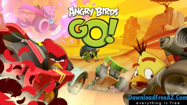 Download Free Angry Birds Go! v2.9.1 APK + MOD (Unlimited Coins/Gems) for Android