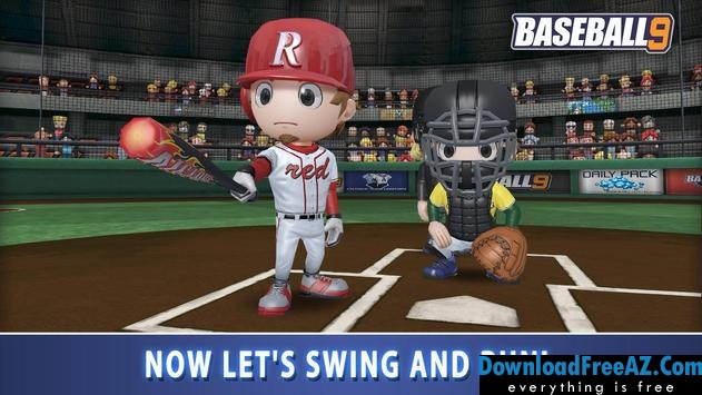 Download BASEBALL 9 + (gems/coins/resources) for Android