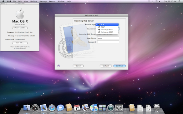 Where can you download MAC OS X Snow leopard 10.6 for free