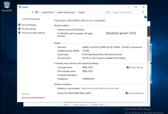 Step-by-Step Guide to install Active Directory in Windows Server 2019