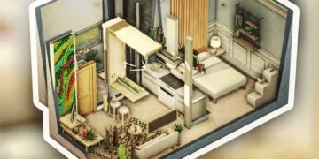Dh4s Downloadhouse4sims Maisons Pour Sims 4 A Telecharger