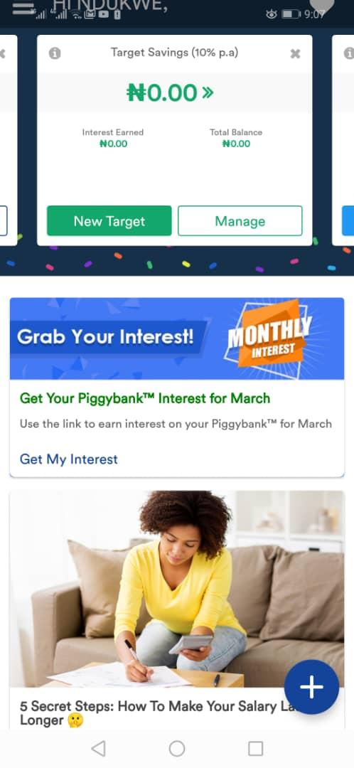 PiggyVest app