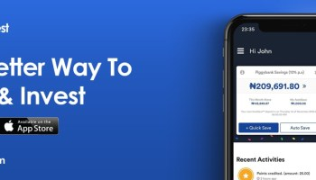 Download Cowrywise App for Android & iPhones & Earn 15% p a