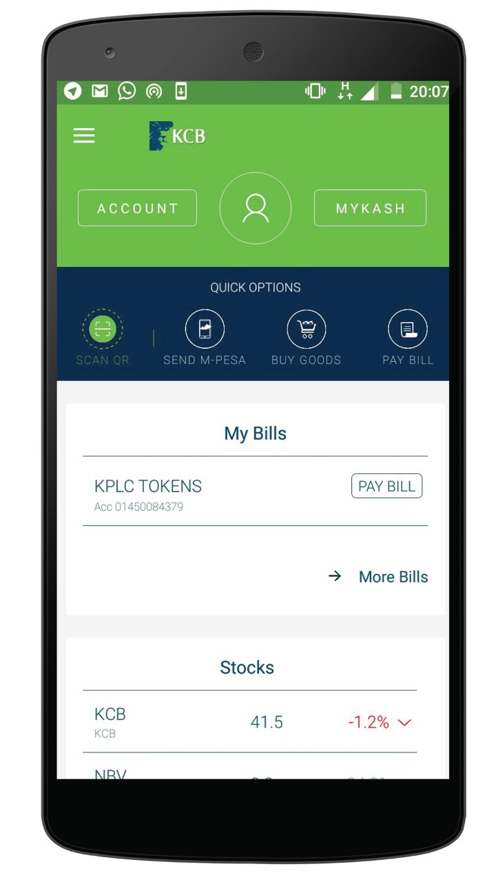 KCB Mobile Banking App Download