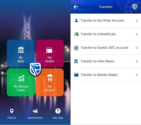 Stanbic IBTC Internet Banking Mobile App