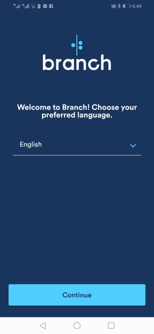 branch personal finance loan app