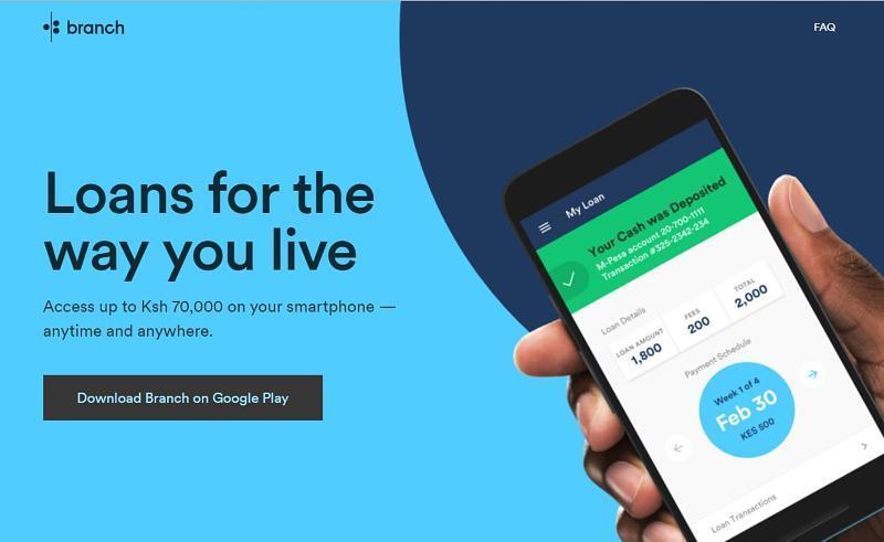 download branch loan app