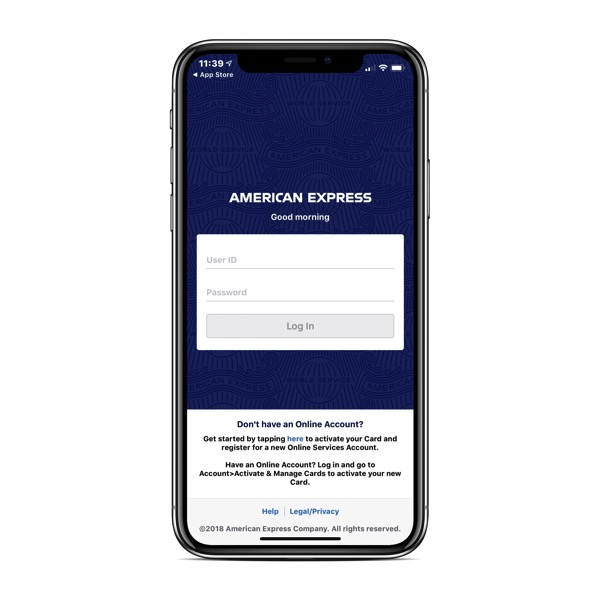 American Express Canada App