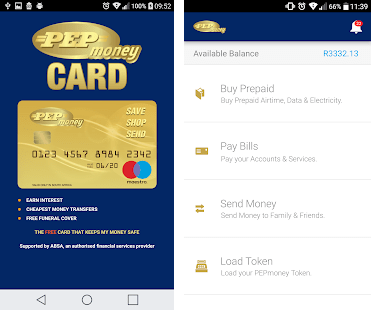 Download PEPMoney Card Account App