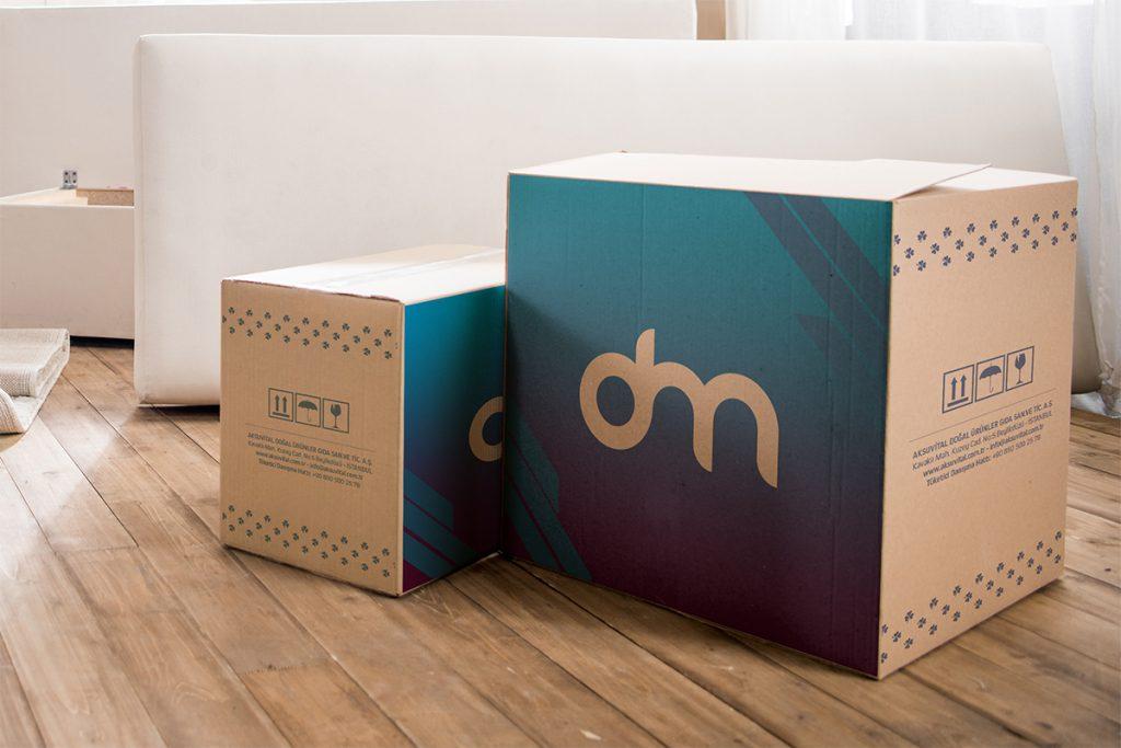 Download Free Cardboard Box Mockup | Download Mockup