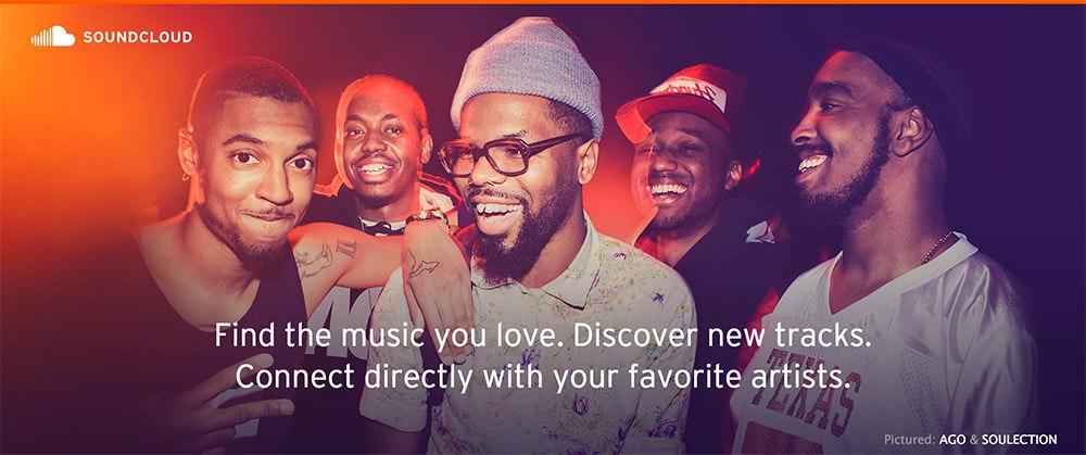 Бесплатные сайты для прослушивания музыки: SoundCloud