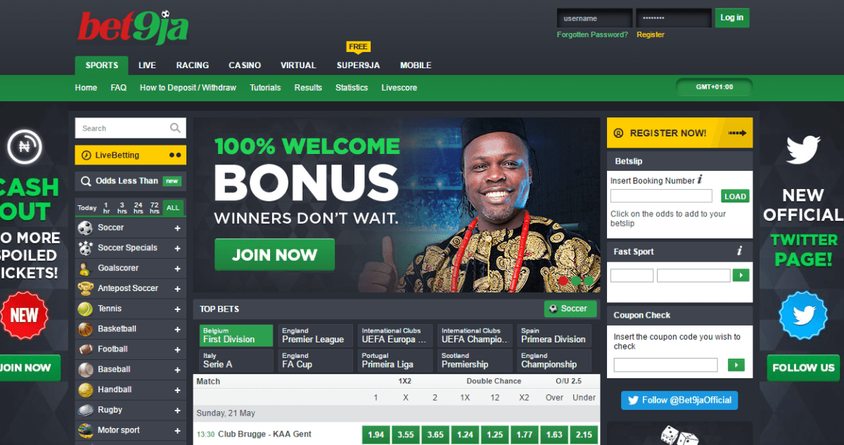 Download Bet9ja App For Smartphones