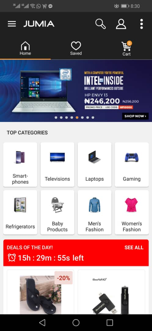 Download Jumia App
