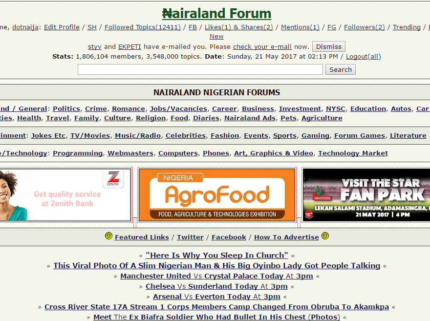Download Nairaland App For Android