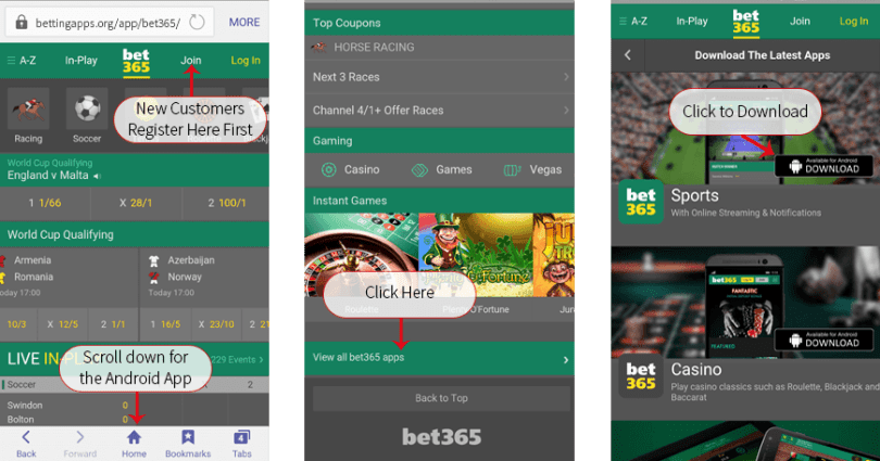Download Bet365 App APK