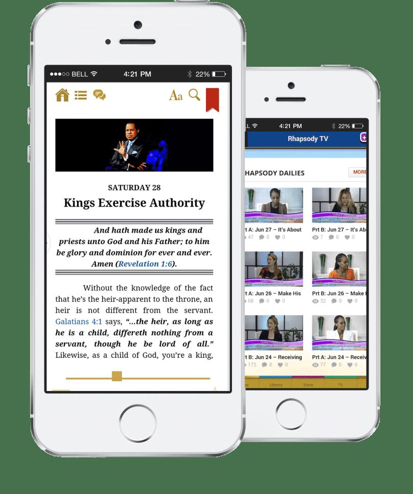Download Rhapsody of Realities App