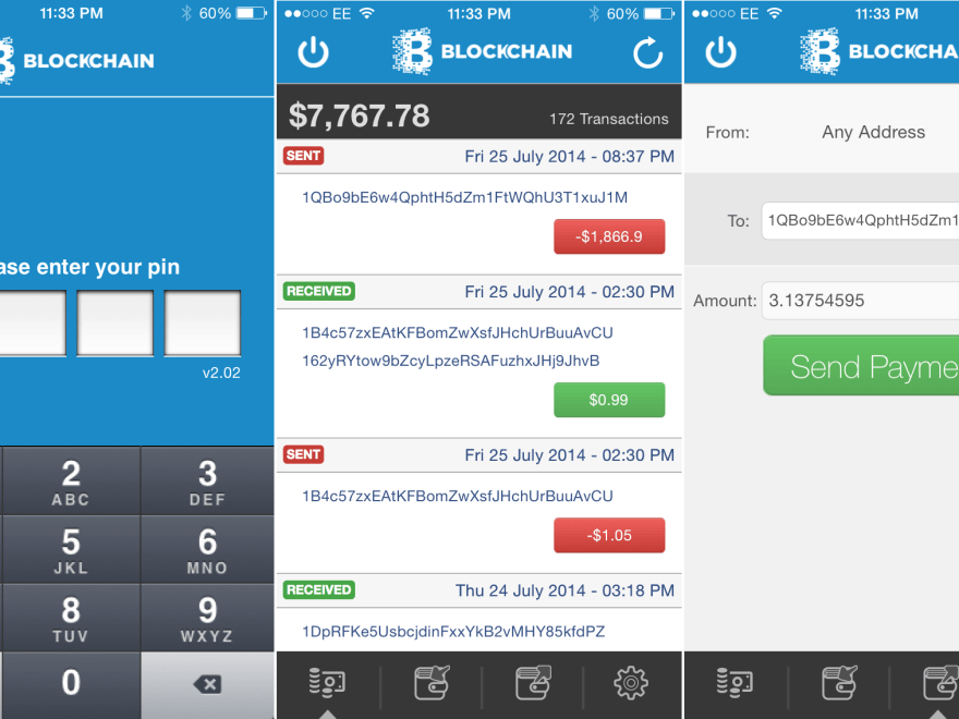 Download Bitcoin Wallet APK App iPhone Android