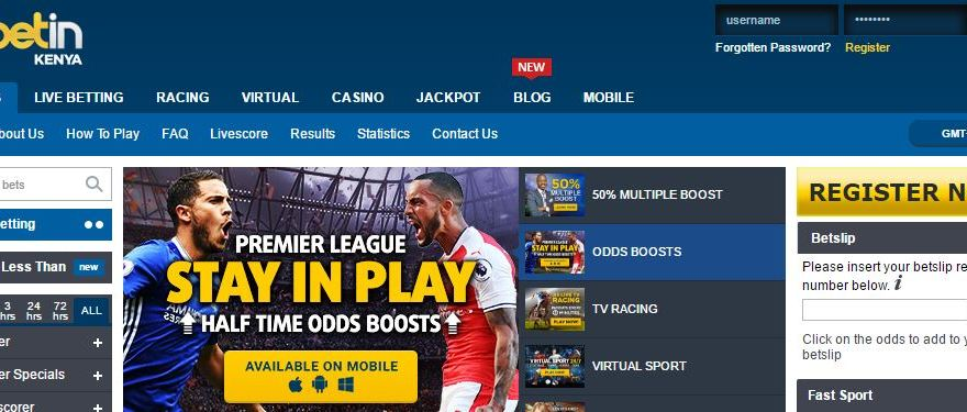 Betin Kenya Sports Betting Mobile App Download