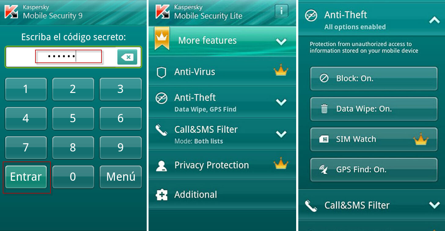 Get Kaspersky Mobile Antivirus For Real Time Protection on Your Mobile Device