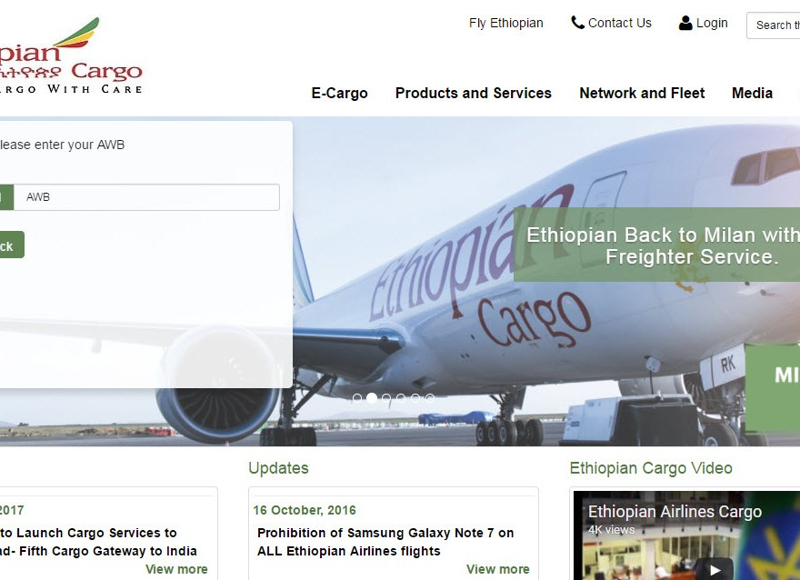 Ethiopian Airlines App For Flight Booking