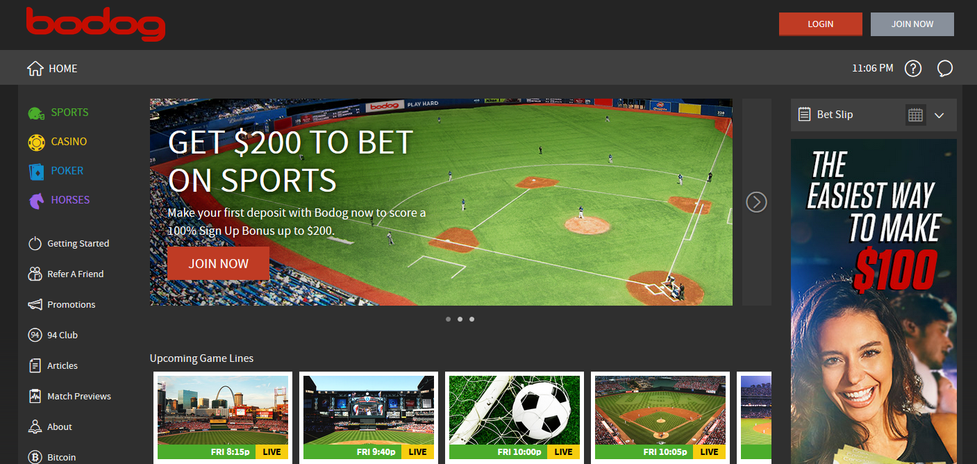 Get Bodog Betting App for Easy Betting Worldwide