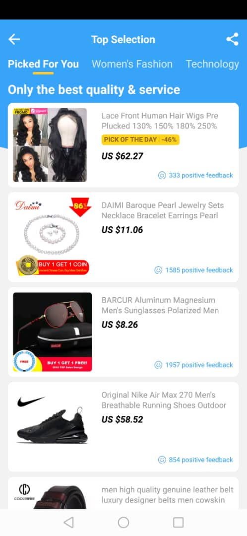 Download Aliexpress Shopping App for Android