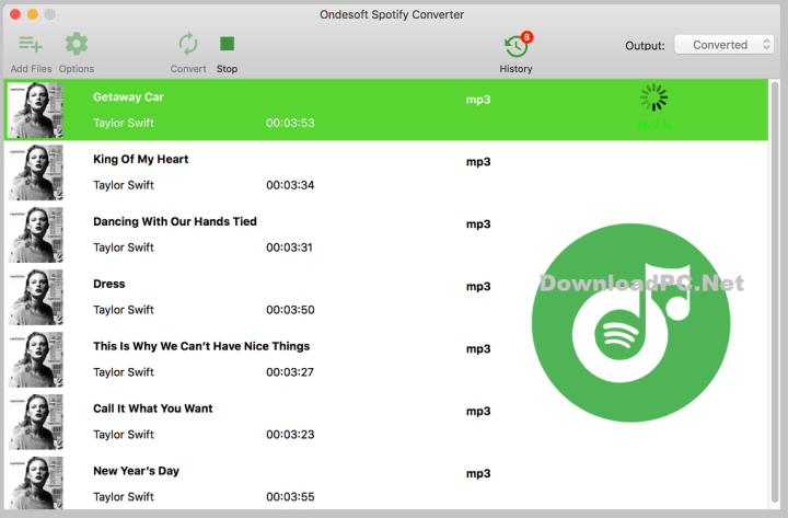 Ondesoft Spotify Converter Free Download