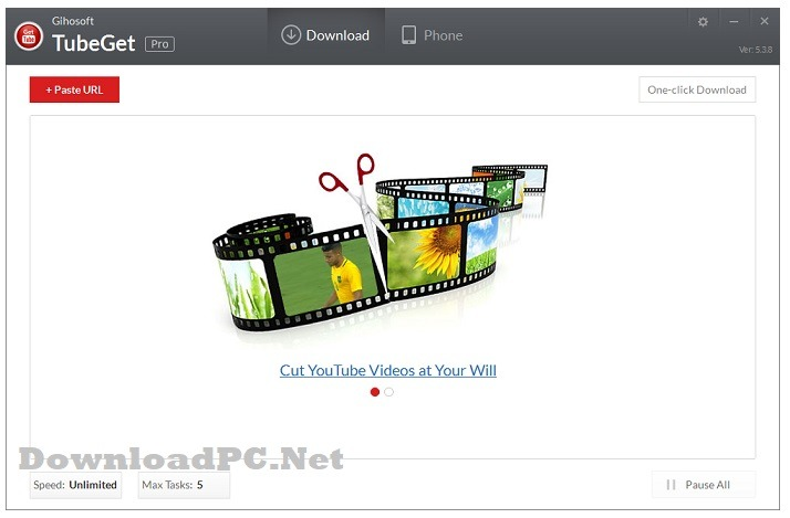 Gihosoft TubeGet Pro Full Version Download for Windows