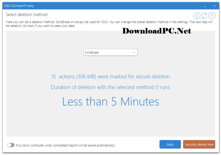 O&O BrowserPrivacy Serial Key Free Download