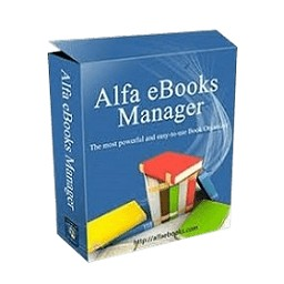 Alfa eBooks Manager Pro Crack Free Download