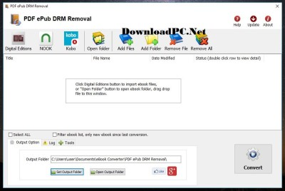 PDF ePub DRM Removal Crack Free Download 2020