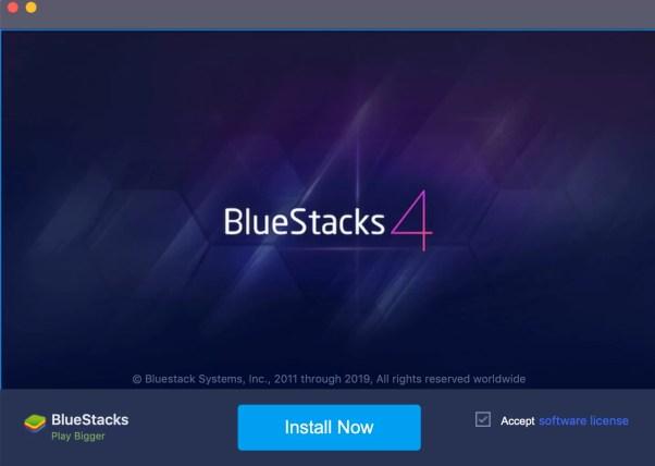 Viber for Mac using Bluestacks