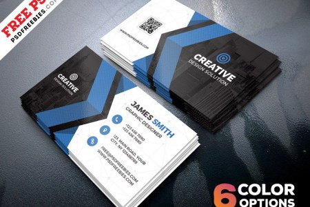 Creative Business Card Template Download   Download PSD Creative Business Card Template