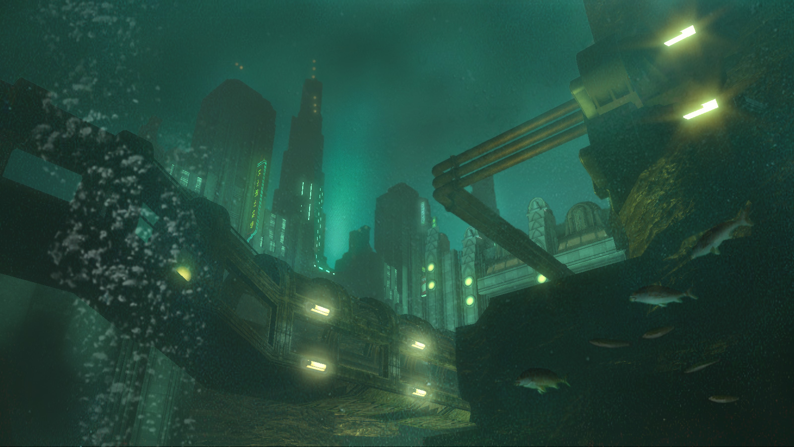 Rapture City from Bioshock