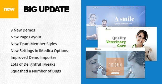 iMedica - Responsive Medical & Health WP Theme - 5