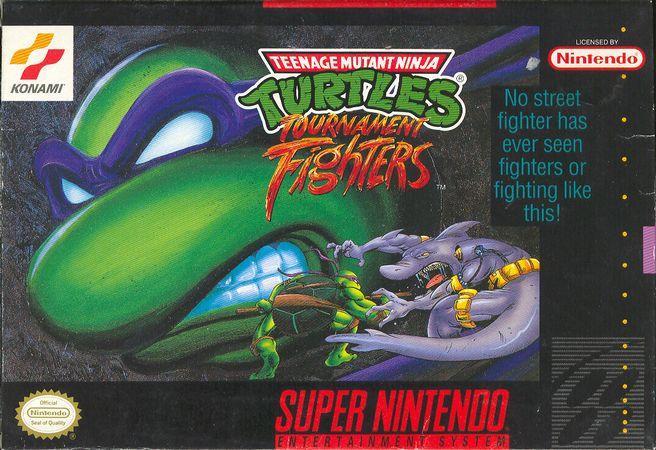 Teenage Mutant Ninja Turtles Tournament Fighters SNES