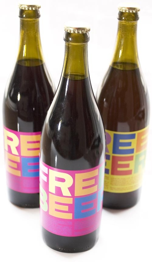 Free Beer Bottle