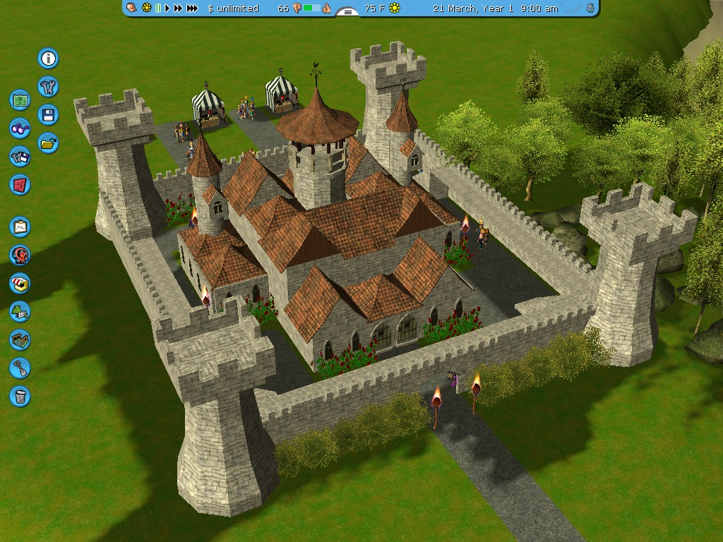 Small Me Val Castle