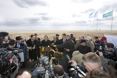 Secretary-General Visits Semipalatinsk Nuclear Test Site