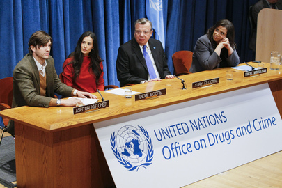 Press Conference on Launch of UN Fund for Human Trafficking Victims