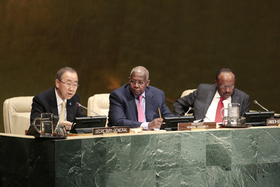 Secretary-General Briefs Assembly on Post-2015 Development Agenda