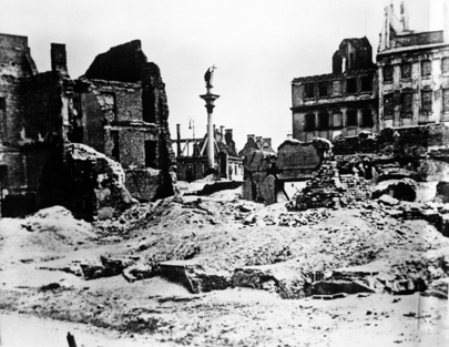 War Devastates City of Warsaw