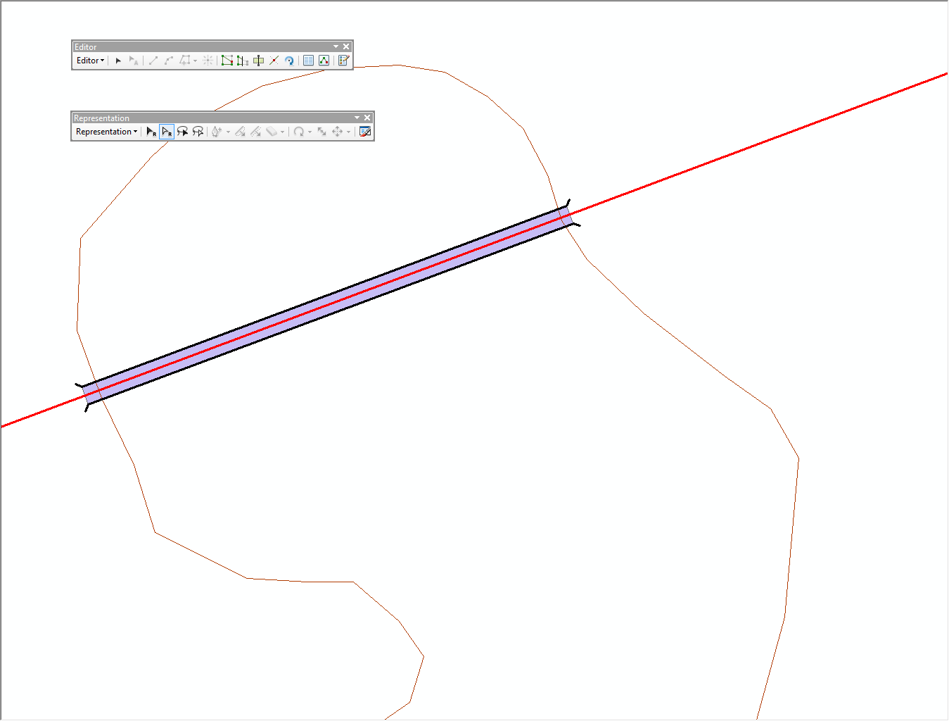 Creating Pa Ts For Line Over Polygons