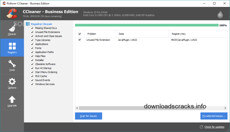 CCleaner Business Edition 5.47.6716 Cracked Latest Code