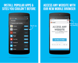 Hola Free VPN -free VPN for android phones