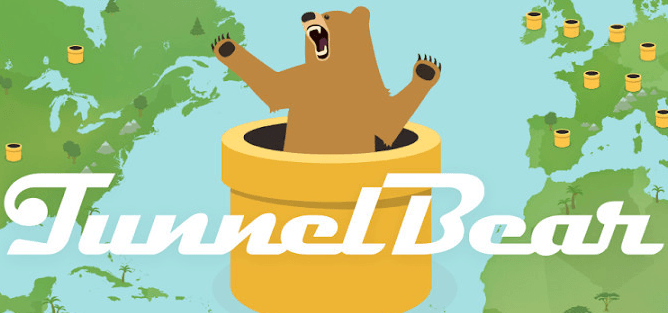 Download VPN free Tunnel Bear